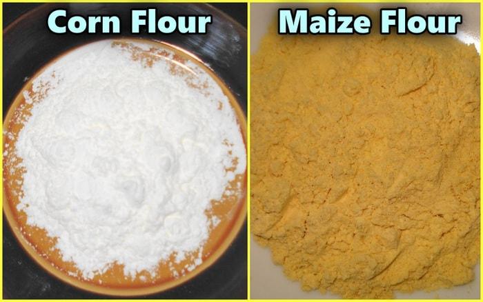 corn flour vs maze flour