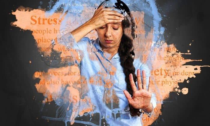 Stress symptoms in hindi